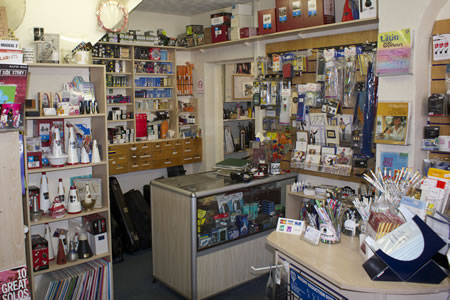 Inside our Norwich shop