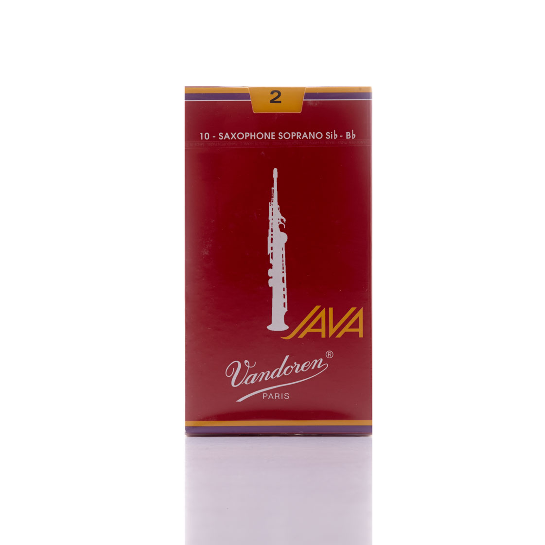 JAVA 'Filed – Red Cut' Soprano Reeds
