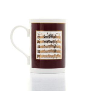 Gold Music Mug